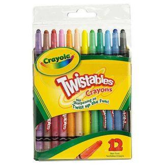 Crayola Twistable Crayons 12 Pack