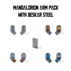 Product shot Custom Design Arms SW Mandalorian Warrior Pack