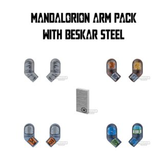 Product shot Custom Design Arms SW Mandalorian Warrior Pack