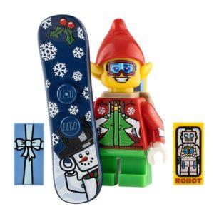 Product shot Custom Design Mini Figure Faceplant the Elf