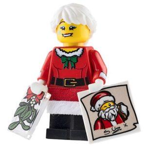 Product shot Custom Design Mini Figure - Mary Christmas