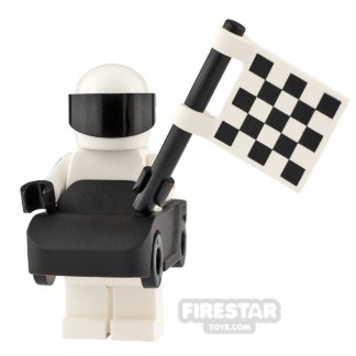 Product shot Custom Minifigure The Stig