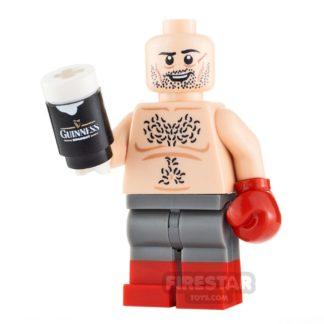 Product shot Custom Minifigure Tyson Fury