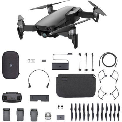 DJI Mavic Air RTF Kit - Fly More Combo Set - Onyx Black