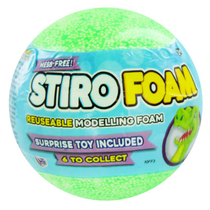 Product shot Dinosaur Stiro Foam Surprise Toy Capsule - Assorted