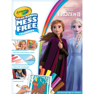 Disney Frozen 2 Crayola Color Wonder Mess Free Book
