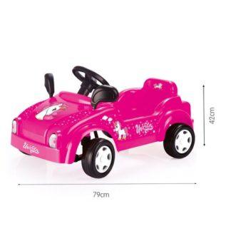 Dolu Pedal Unicorn Smart Car - Pink