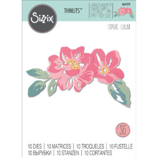 Product shot Floral Layers Metal Cutting Die Set