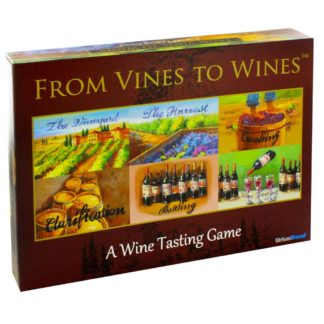 Product shot From Vines To Wines Adult Learning Board Game