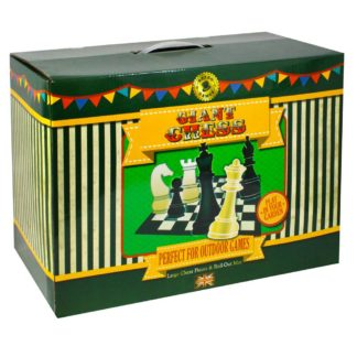 Product shot Giant Chess Game Set