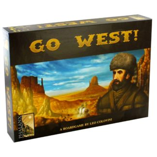 Product shot Go West Strategy Board Game