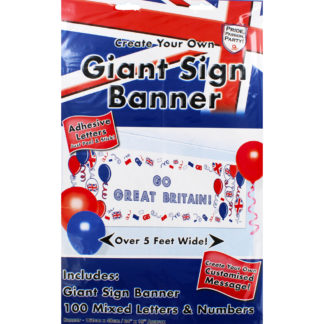 Product shot Great Britain Create Your Own Banner - 1.6M