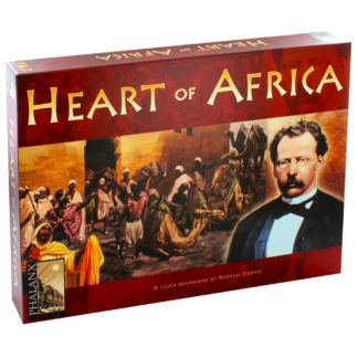 Product shot Heart Of Africa Strategy Board Game
