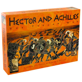 Product shot Hector And Achilles Strategy Card Game