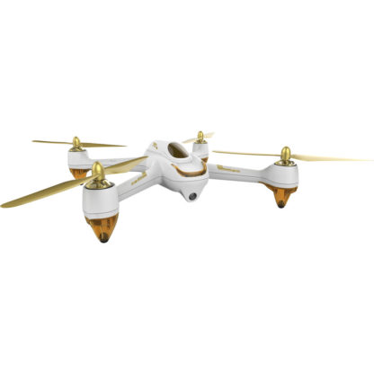 Hubsan X4 H501S FPV Brushless 2.4 GHZ/5.8GHZ RC 1080P Camera Quadcopter with Transmitter (RTF) with Standard Remote Controller FPV2 (4.3' inches LCD) - White