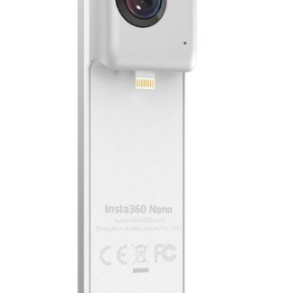 Insta360 Nano Spherical Video Camera with Lightning Connector for iPhone 6/6 Plus/6s/6s Plus/7/7 Plus - Silver