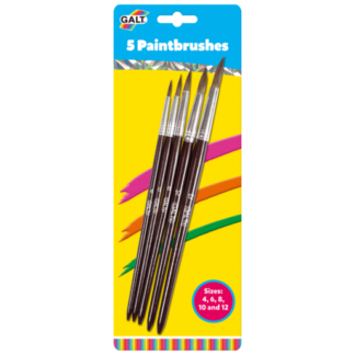 James Galt 5 Paintbrushes