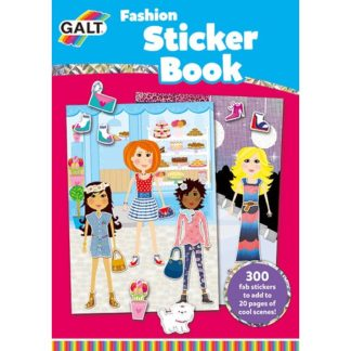 James Galt Fashion Sticker Book