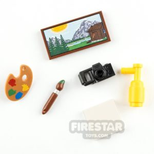Product shot LEGO Accessory Pack Art