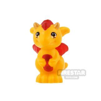 Product shot LEGO Animals Mini Figure - Dragon Baby - Spark
