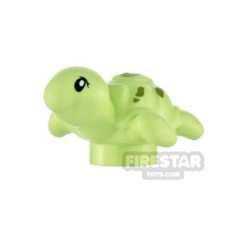 Product shot LEGO Animals Minifigure Baby Turtle