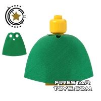 Product shot LEGO Cape - Green