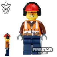 Product shot LEGO City Mini Figure - Construction Worker 14