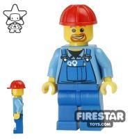 Product shot LEGO City Mini Figure - Construction Worker 16