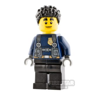 Product shot LEGO City Minifigure Duke DeTain
