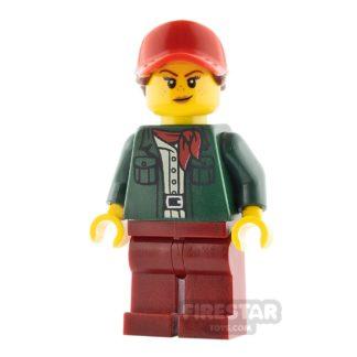 Product shot LEGO City Minifigure Female Safari Tourist