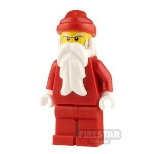 Product shot LEGO City Minifigure Santa Bushy Eyebrows