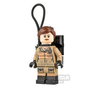 Product shot LEGO Ghostbusters Minfigure Erin Gilbert