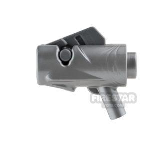 Product shot LEGO Gun - Star Wars Firing Blaster - Flat Silver
