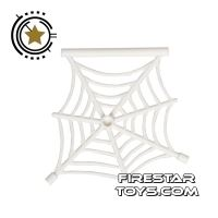 Product shot LEGO - Hanging Spiders Web - White