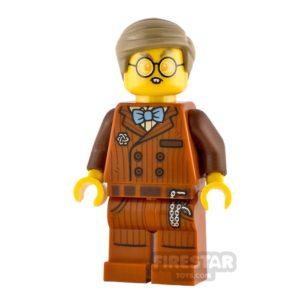 Product shot LEGO Hidden Side Minifigure Mr. Clarke