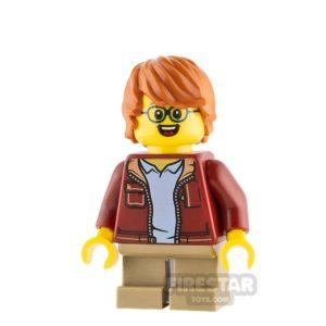 Product shot LEGO Ideas Boy Dark Red Jacket