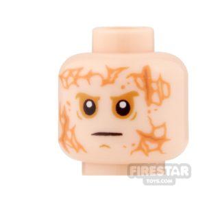 Product shot LEGO Mini Figure Heads - Anakin - Scarred