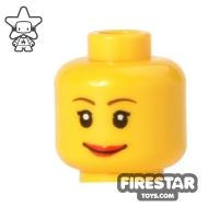 Product shot LEGO Mini Figure Heads - Smiling