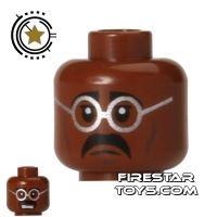 Product shot LEGO Mini Figure Heads - Teenage Mutant Ninja Turtles - Baxter
