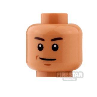 Product shot LEGO Mini Figure Heads - Zander