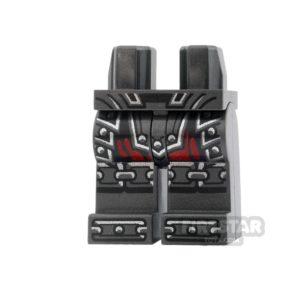 Product shot LEGO Mini Figure Legs - Ninjago - Armour - Dark Red