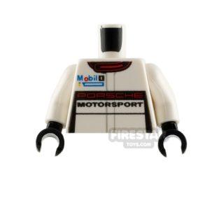 Product shot LEGO Minifigure Torso Porsche Racing Jacket