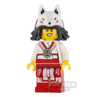Product shot LEGO Ninjago Minifigure Akita No Cape