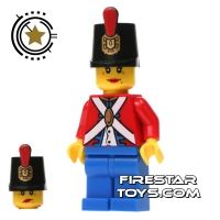 Product shot LEGO Pirate Mini Figure - Imperial Soldier II - Female