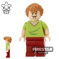 Product shot LEGO Scooby-Doo Figure - Shaggy - Open Grin