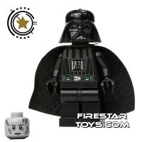 Product shot LEGO Star Wars Mini Figure - Darth Vader - White Pupils
