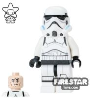 Product shot LEGO Star Wars Mini Figure - Stormtrooper - Printed legs and Closed Mouth