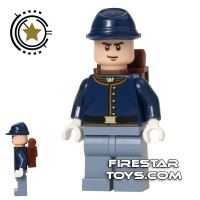 Product shot LEGO The Lone Ranger Mini Figure - Cavalry Soldier 1