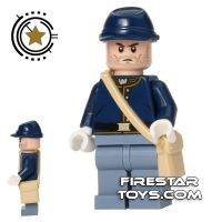 Product shot LEGO The Lone Ranger Mini Figure - Cavalry Soldier 2
