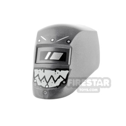 Product shot LEGO Welding Visor With Teeth Pattern